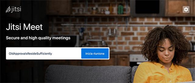 Alternative a Skype online: Jitsi Meet