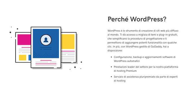 Come aprire un blog di cucina: perché WordPress GoDaddy