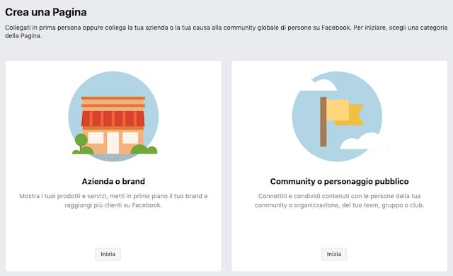 Come creare una pagina aziendale su Facebook: istruzioni. (Photo courtesy: facebook.com)