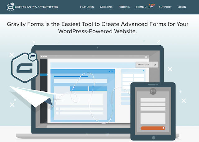 Installare plugin su WordPress: Gravity form