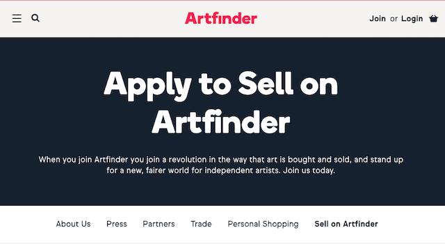 Vendere quadri online su ArtFinder