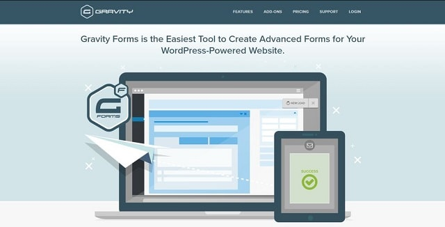 Form builder: Gravity Form