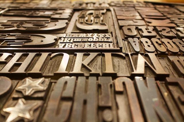 Identità visiva: scegliere il carattere e font