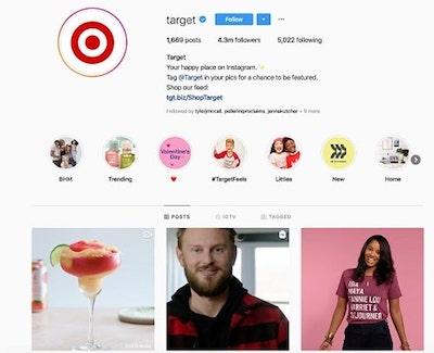 Instagram marketng: strategia Target