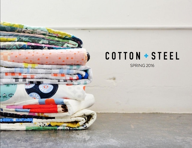 Lookbook moda: esempio Cotton+Steel