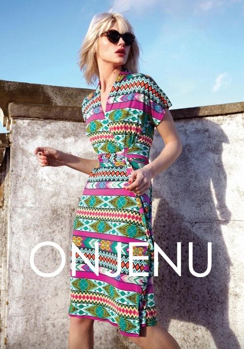 Lookbook moda: esempio ONJENU