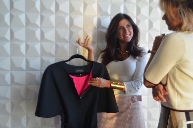 La storia di Personal Shopping Milan: Maria Waleska con una cliente