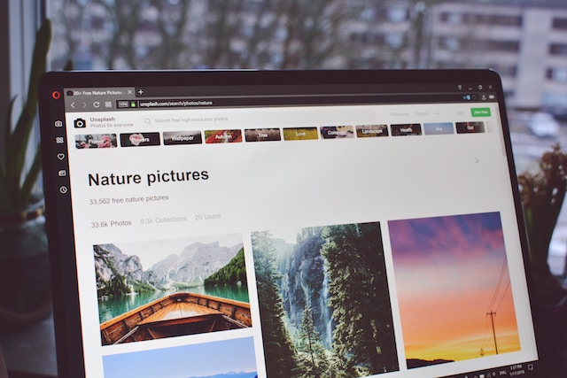 Ottimizzare immagini per sito: immagini d'archivio