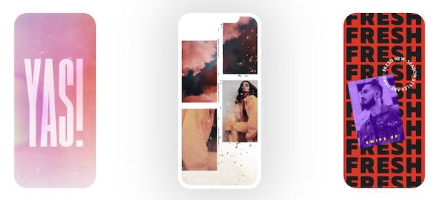 Over by GoDaddy: grafiche su smartphone