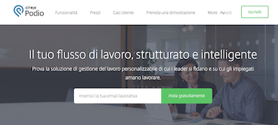 Software di project management: Podio