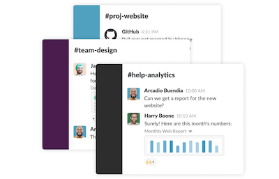 Software di project management: Slack