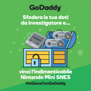 WordCamp Milano 2019: la caccia al tesoro di GoDaddy