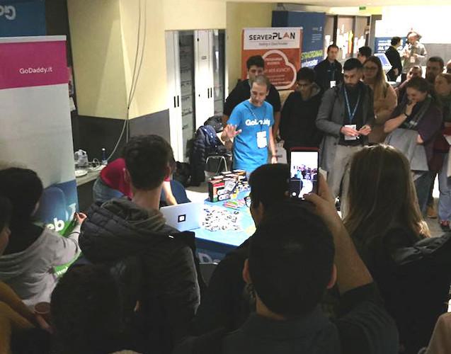 GoDaddy al WordCamp Milano 2019: la premiazione