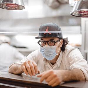 Luciano - Cucina Italiana: lo chef in cucina
