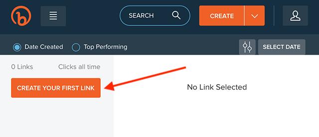 Accociare URL con bitly: creare link brevi