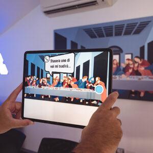 Augmented Reality Studio: ultima cena