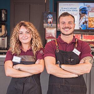 Caffè Napoli, Milano: team