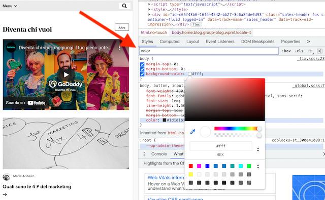 Colori HTML: come trovare il codice di un colore online
