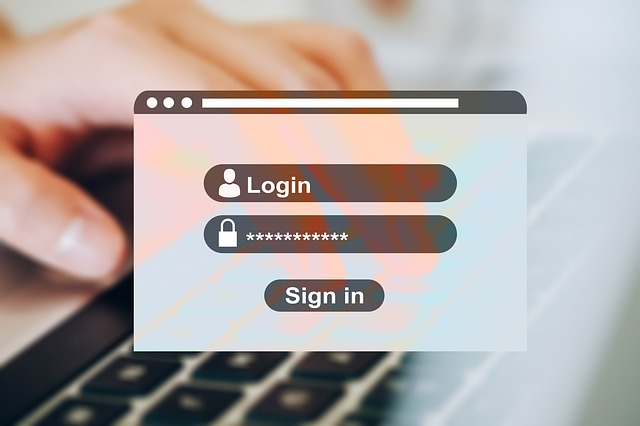 Creare password sicure: login