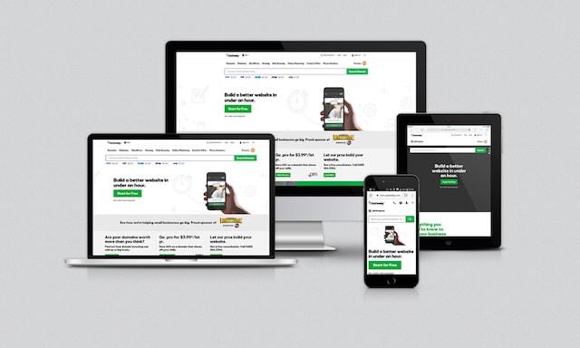 Come creare un sito web responsive: GoDaddy