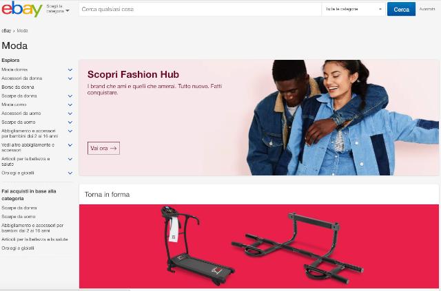 Come vendere vestiti online: www.ebay.it