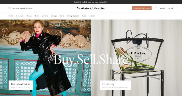 Dove vendere vestiti online: it.vestiairecollective.com