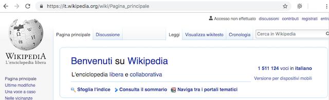 Estensioni domini .org Wikipedia