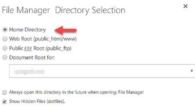 File htaccess: selezionare directory