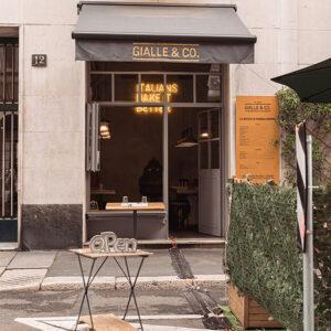 Gialle & Co., il locale a Milano