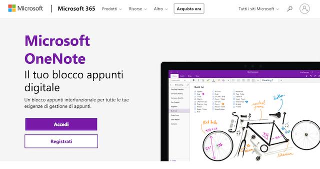 OneNote Microsoft 365