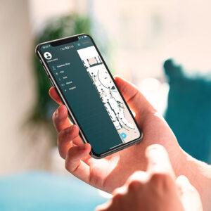 L'app Nextome: menu