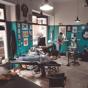 Lo studio di Sailors Tattoo Milano