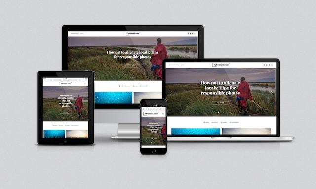 Creare siti web responsive: esempio Adventure
