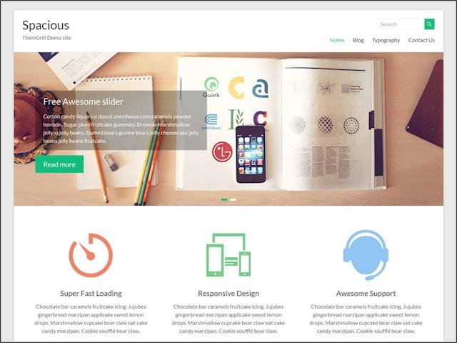 Creare un portfolio WordPress: tema ThemeGrill