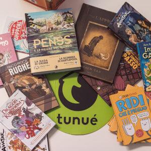 Tunué: libri