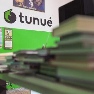 La sede della casa editrice Tunué