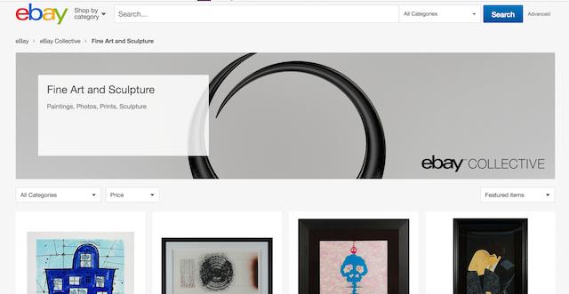Come vendere artigianato online: www.ebay.com